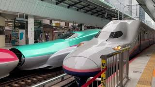 E4系回送 東京駅発車