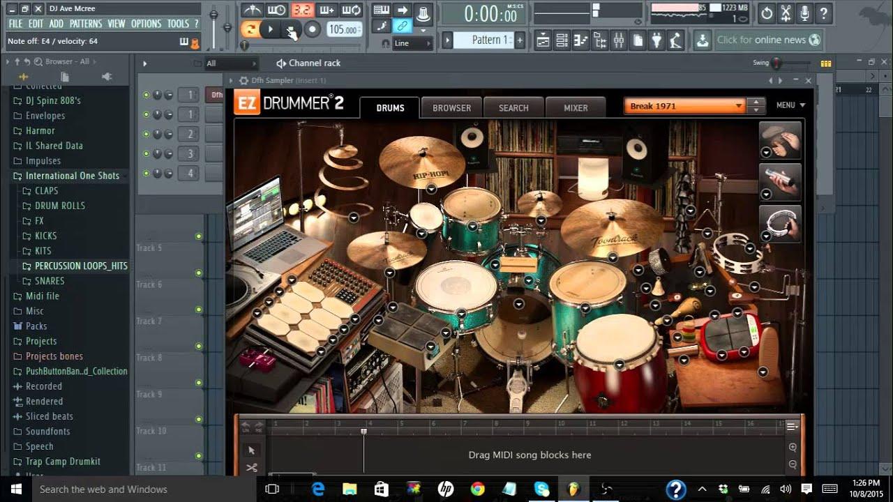 toontrack ez drummer 2 hip hop bundle review youtube. Black Bedroom Furniture Sets. Home Design Ideas
