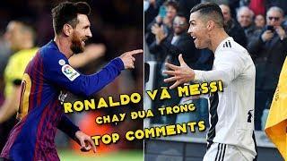 CĐV Barca mong muốn Messi đổi áo với Nghệ Sĩ Hài Lukaku | Top Comments #7