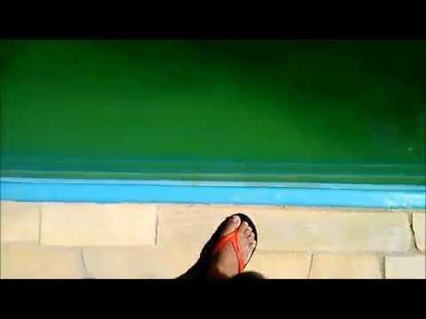 Limpeza piscina verde 30 mil litros youtube for Piscina 30 mil litros