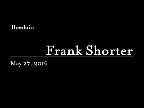 The Honorands: Frank Shorter H
