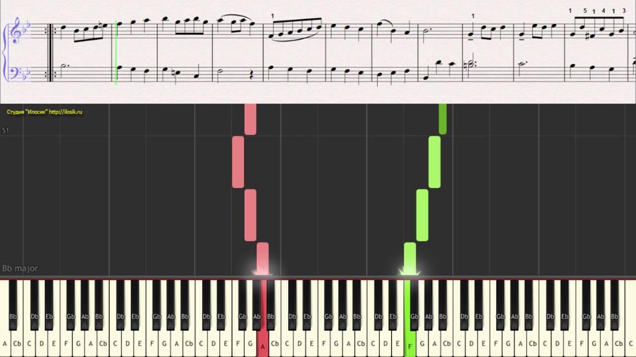Скачать ноты фортепиано чайковский аллегро нон троппо э мольто.