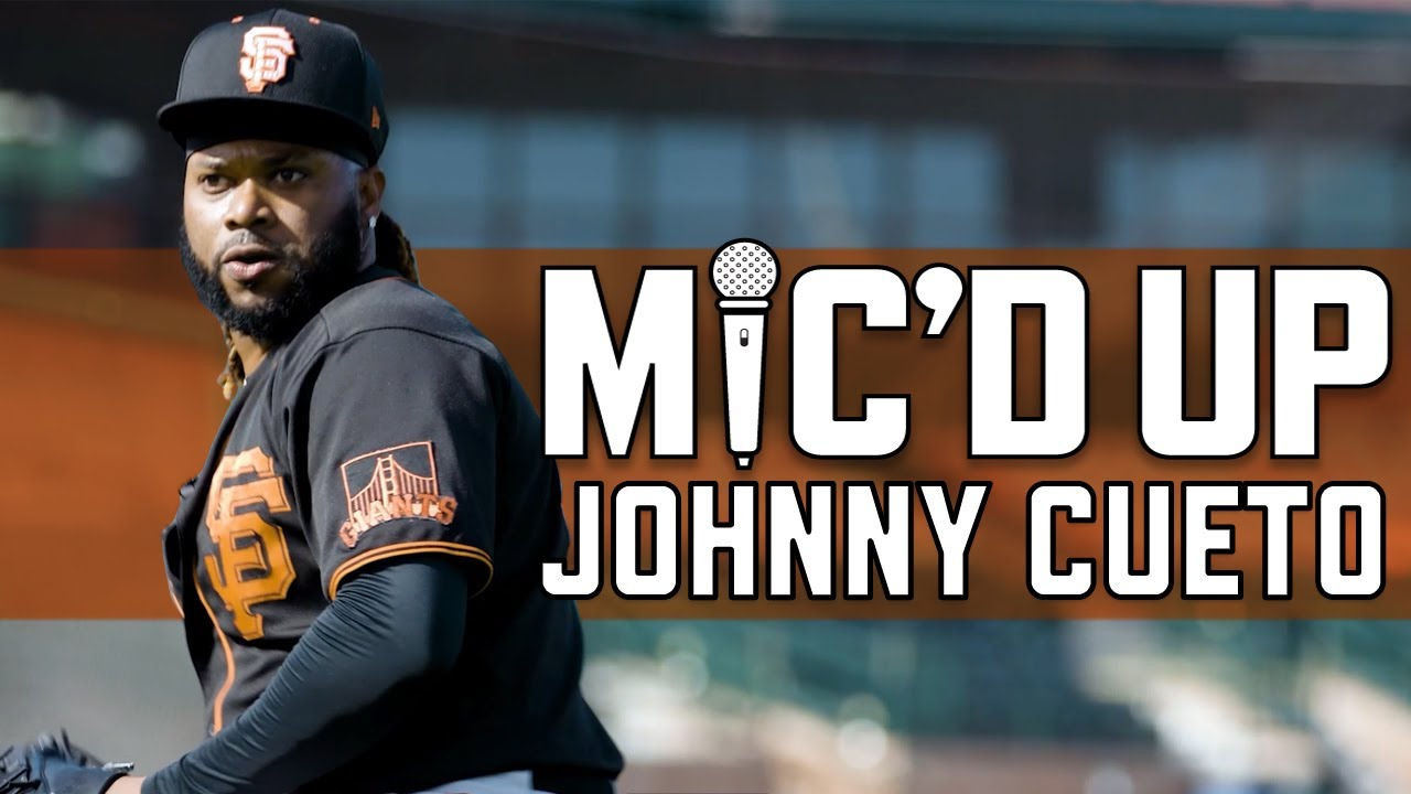 Mic'd Up: Johnny Cueto