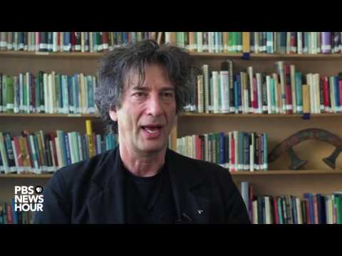 Author Neil Gaiman recommends what to listen to and read