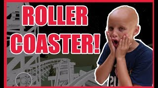 RIDING THE COOLEST ROLLER COASTER IN ROBLOX!