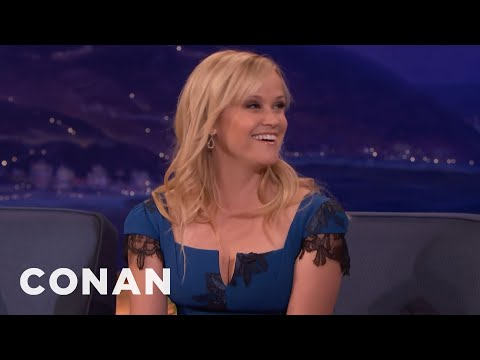 Reese Witherspoon Went To New Zealand With Oprah  - CONAN on TBS