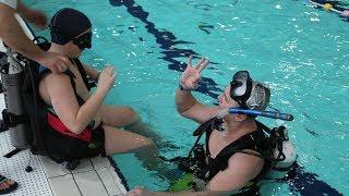 WOŚP: nauka nurkowania w parku wodnym