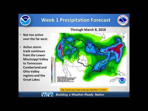 March Update to the Spring Hydrologic Outlook for NWS Partners