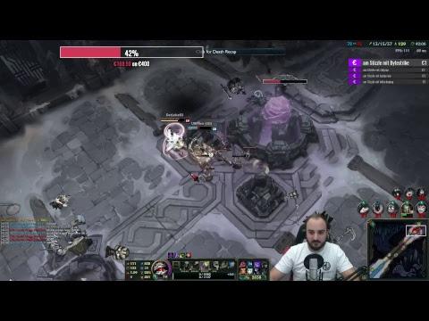 C-Games Stream ( Shyvana, AP Nunu, Vayne, Tristana, Jgl Akali]