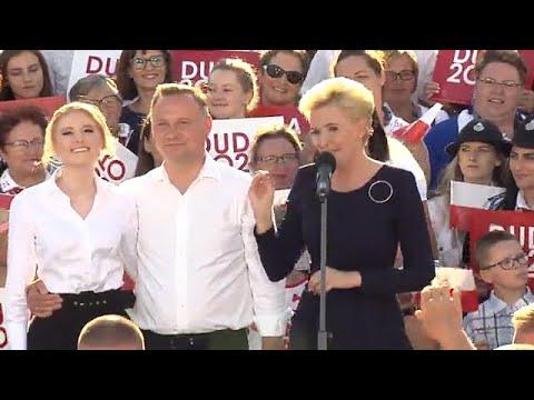 ZOBACZ TO/Agata Duda - wystąpienie na finiszu kampanii