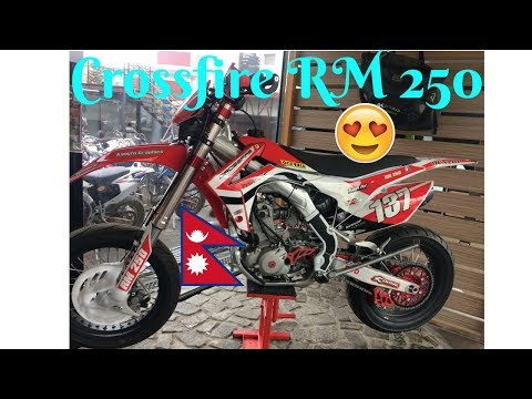 Crossfire RM 250 Nepal Showroom Review 2018|  Crossfire Leaking Oil From Shock
