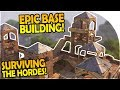 BUILDING an EPIC BASE - SURVIVE the HORDE ATTACKS in OPEN WORLD SURVIVAL - FORTNITE Gameplay Part 1