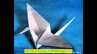 How To Make 3d Origami Dove