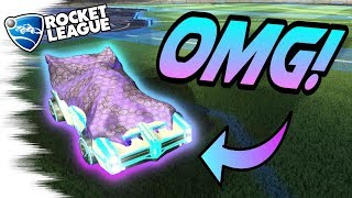 Rocket League Gameplay: FREESTYLES With the BLACK MARKET SHEET! - Goals & Mind Games (1v1 Dribbles)