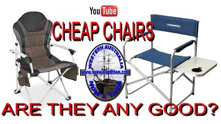 Cheap Camping Chairs - Are they any good?