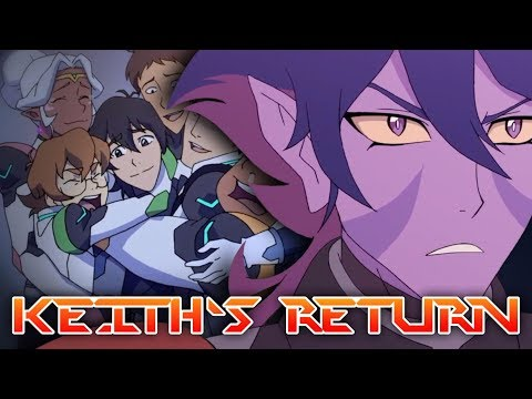 KEITH'S RETURN TO TEAM VOLTRON - Why He'll Come Back   Voltron: Legendary Defender Theory