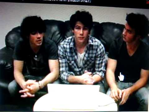 Jonas Brothers Facebook Chat 05/28/2009 In Dallas, TX