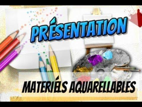 Review Mon Materiel Aquarellable Coloriage Adulte Youtube