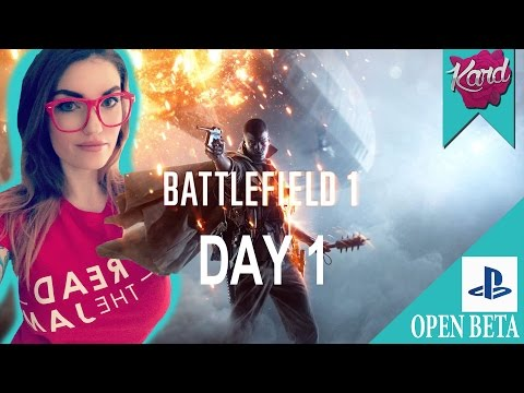 kardplays | Battlefield 1 | Open Beta | Playing with subs