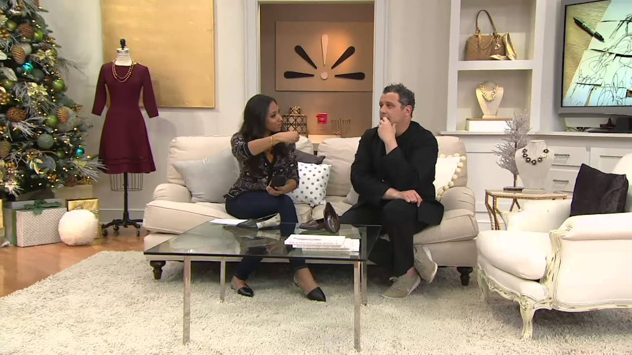 Isaac Mizrahi Live! Leather Pointed Toe Flats On QVC