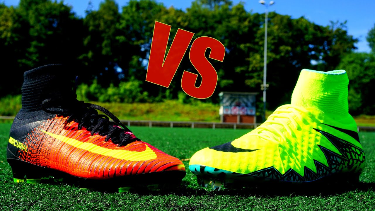 super cute 7e5de 64a33 Ronaldo vs Neymar Boots : NIKE Superfly 5 vs Hypervenom 2 TEST