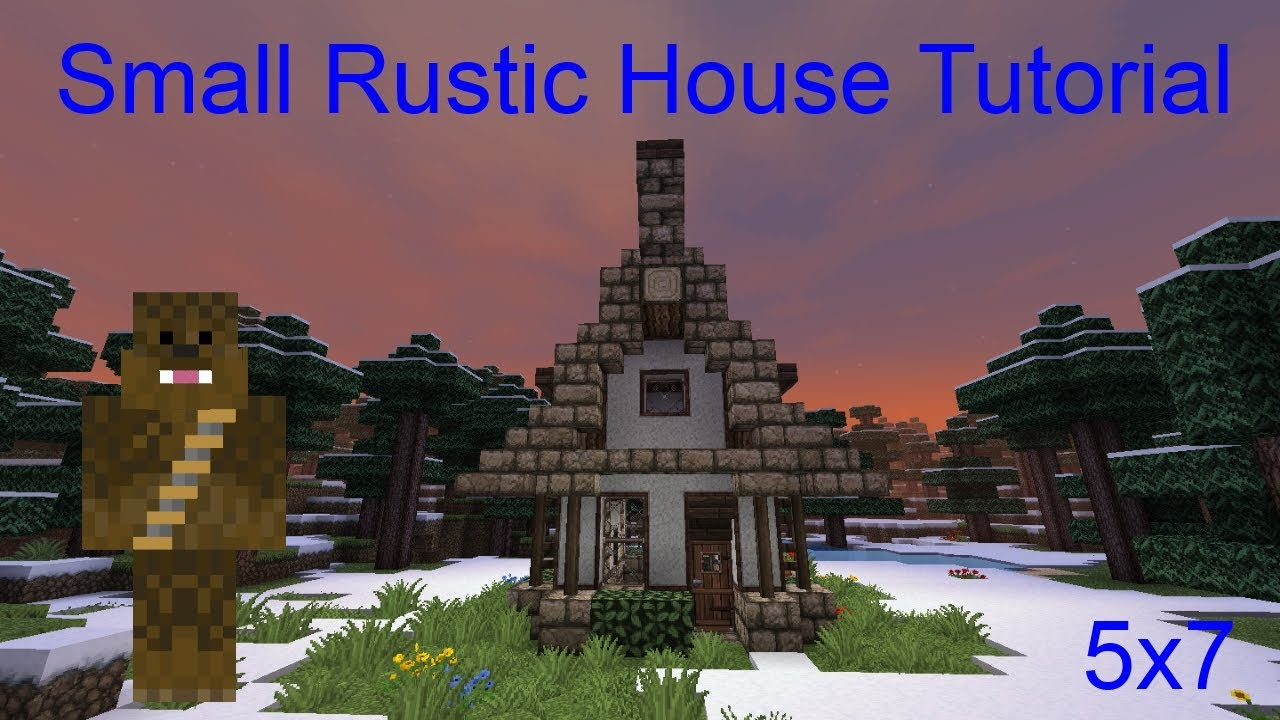 Minecraft 5x7 Small Rustic House