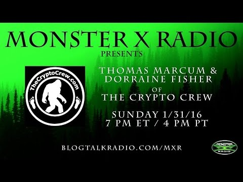 Bigfooting with The Crypto Crew-Monster X Radio