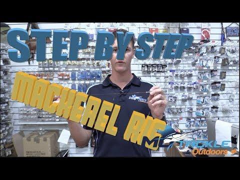 Mackerel Live Bait Rig Set Up Step By Step