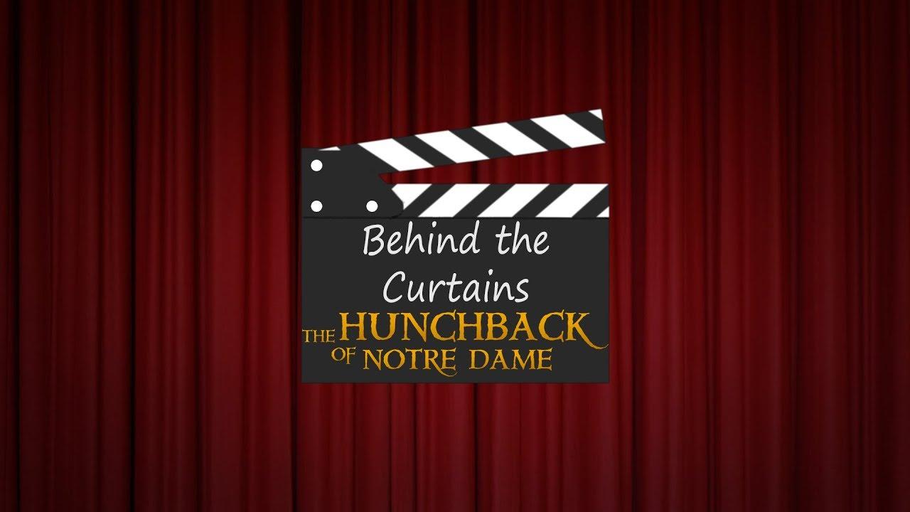 Curtains the musical logo - Behind The Curtains At Hunchback Lgp