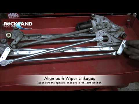 Honda Accord Parts Diagram Turbo Exhaust How To Wiper Linkage (wiper Transmission) Civic .m4v - Youtube