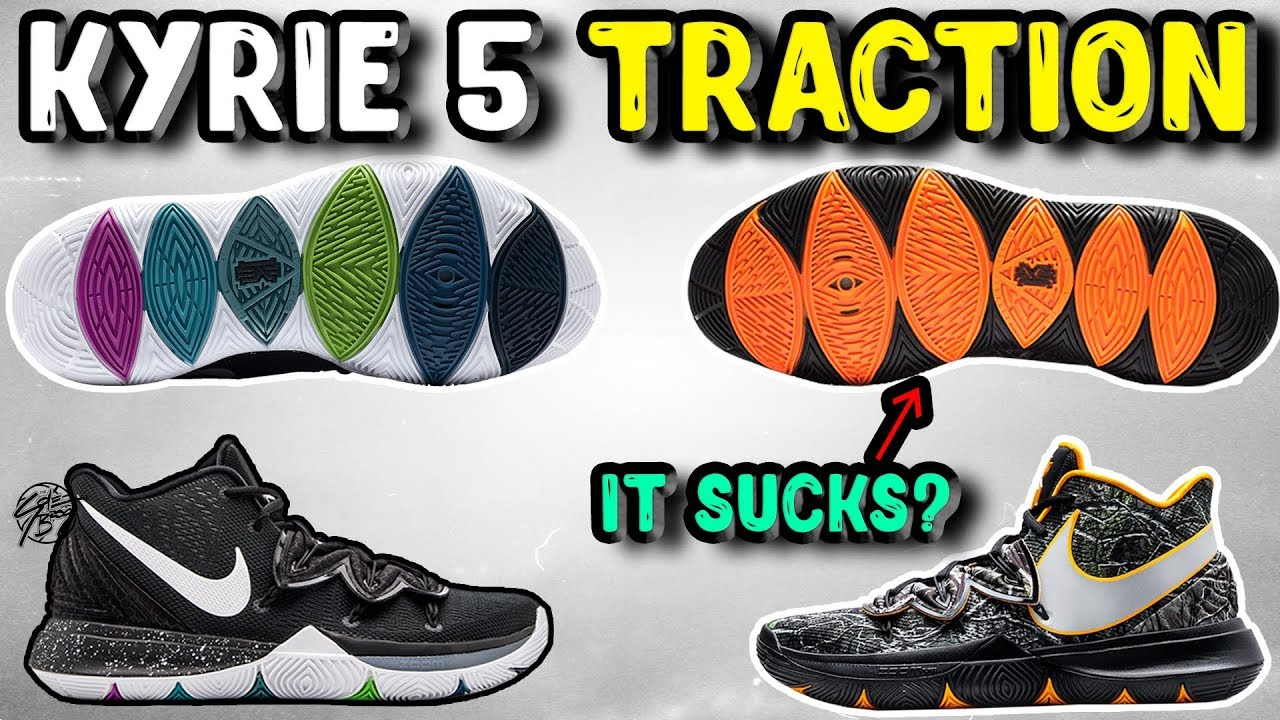 on sale 81881 28185 Nike Kyrie 5 TACO Traction Update! Is it as Good as the Black Magic Colorway  !