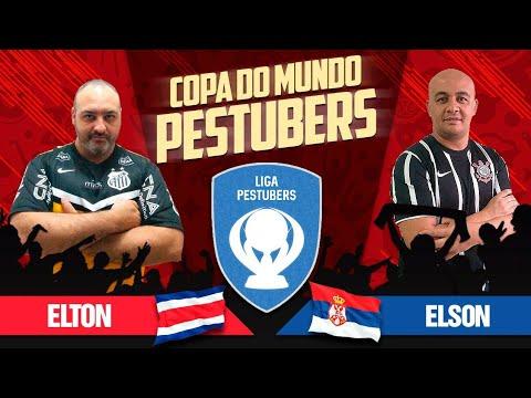 PES 2018 COPA DO MUNDO TOP PESTUBERS -  COSTA RICA X SERVIA