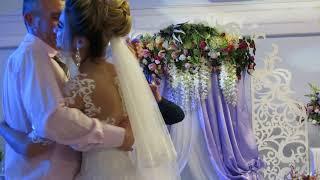 Трогательный танец отца и дочки свадьба 2017