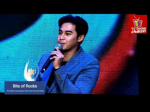 McCoy De Leon Wins Best New Movie Actor - 34TH PMPC Star Awards for Movies