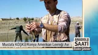 Konya Amerikan Levreği Avı Anadolu Saati Sizden Gelenler Mustafa Köşkü Yaban Tv