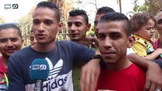مصر العربية | بأغنية «الدنيا ربيع».. زوار حديقة الحيوان يحتفلون بشم النسيم
