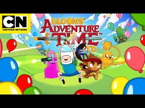 Adventure Time | Bloons TD Gameplay | Cartoon Network