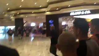 Nate & Nick lead team Diaz through the MGM after UFC 202 press conf bottle throws vs Conor mcgregor