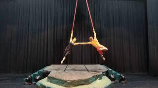 Duo Aerial Straps 2018 | Konstantin & Misako