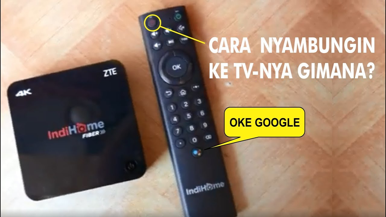 Setting Remote Stb Usee Tv Indihome 2020 Android 4k Bisa Asisten Google Youtube