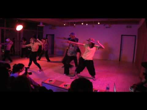 Hip Hop Creation Story performed at Work-in-Progress Showing