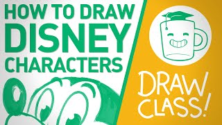 How To Draw Disney Characters - DRAW CLASS