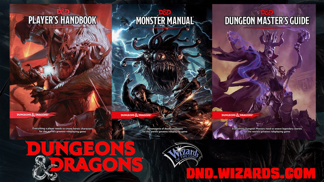 Geek thoughts: dungeons and dragons 5th edition.