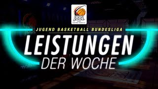 JBBL Leistungen der Woche - Haupt- und Relegationsrunde 10