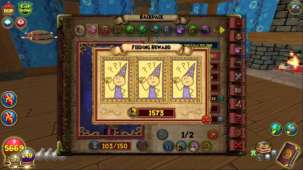 Wizard101: Training My Twenty-Fifth Pet To Mega