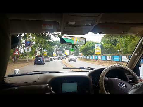 Lusaka drive through