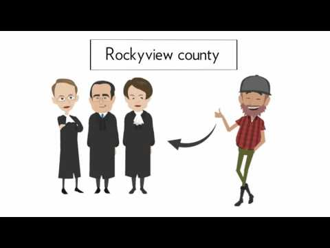 Issues with Rockyview county Alberta
