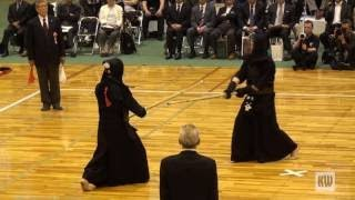 15th All Japan 8 dan Kendo Championships — QF1