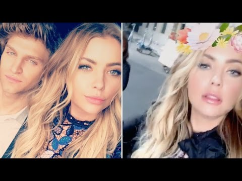 Ashley Benson  Snapchat Videos  October 14th 2016  ft Laura Leighton & Keegan Allen