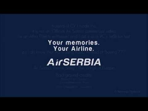 Air Serbia – Your memories, your Airline (After Effects w/ JetStrike)
